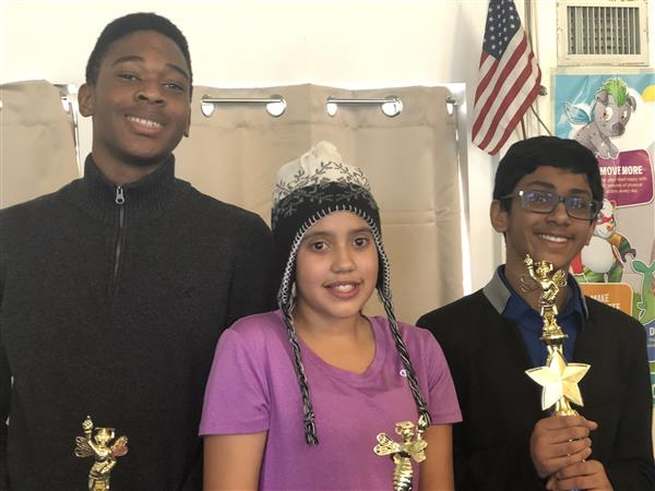 2019 SCSC Spelling Bee winners